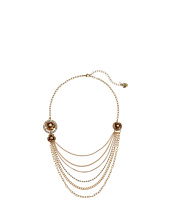 Betsey Johnson - Luminous Betsey Rose Multi Row Necklace