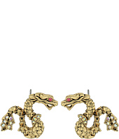 Betsey Johnson - Memoirs of Betsey Dragon Stud Earrings