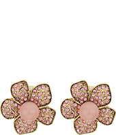 Betsey Johnson - Memoirs of Betsey Flower Stud Earrings