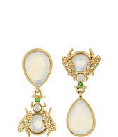 Betsey Johnson - Luminous Betsey Opal Bug Non-Matching Earrings