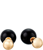 Betsey Johnson - Memoirs of Betsey Ball Front/Back Earrings
