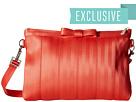 Harveys Seatbelt Bag Bow Clutch (Lava)