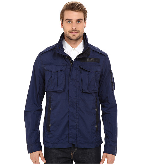 G-Star Rovic Long Sleeve Overshirt in Myrow Nylon