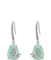 Betsey Johnson - Drangofly CZ Drop Earrings