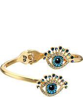 Betsey Johnson - Blue Eye Hinge Bracelet