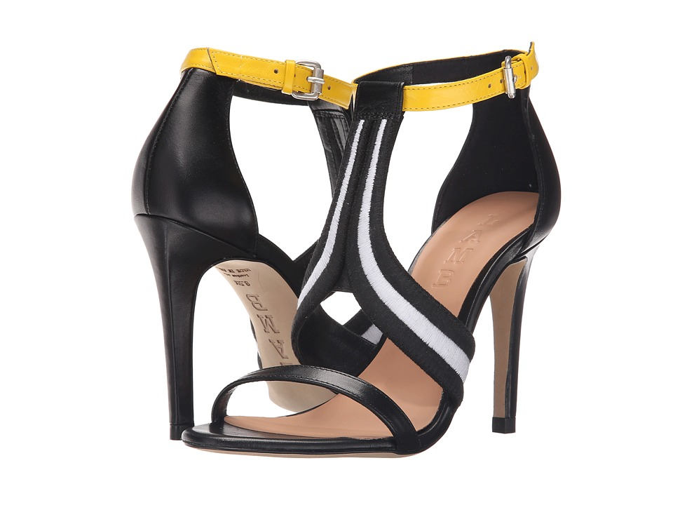 L.A.M.B. Garth Black/White High Heels
