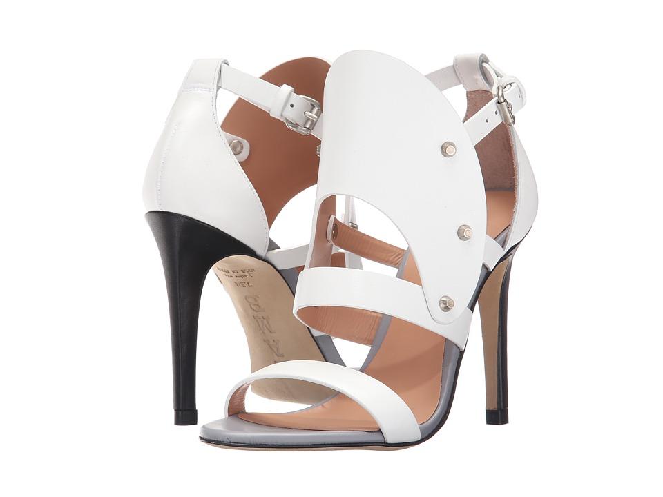 L.A.M.B. Gareth White High Heels