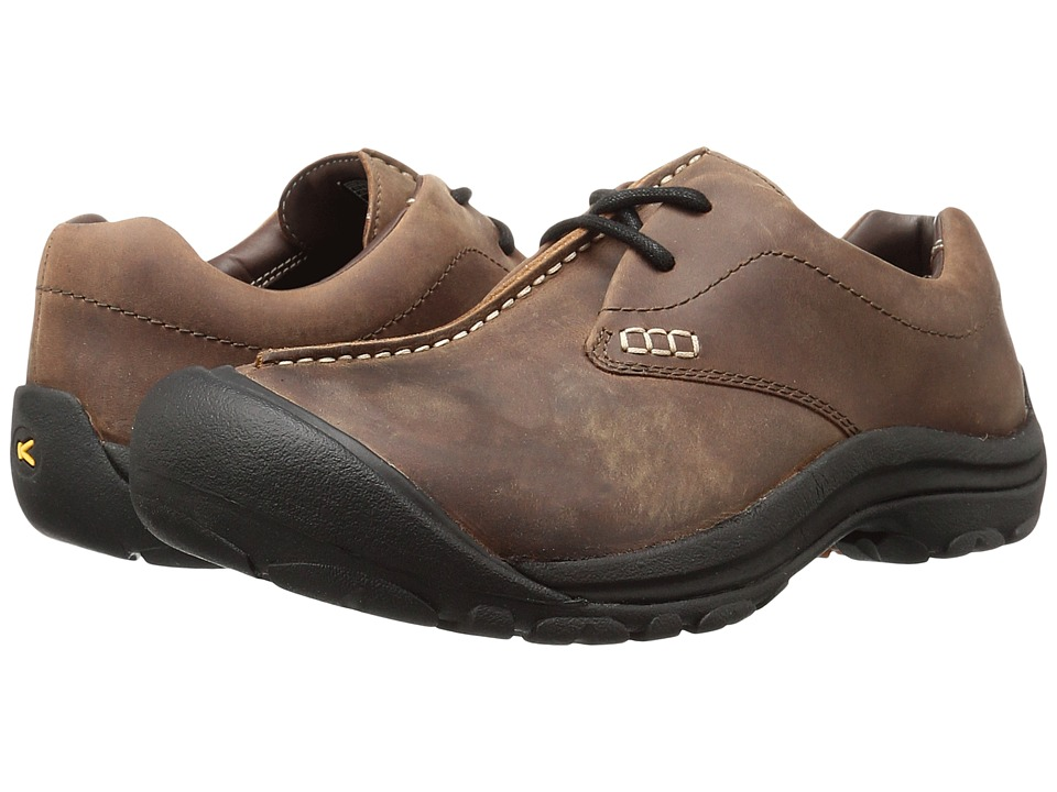 Keen Boston III (Cascade Brown) Men's Lace up casual Shoes