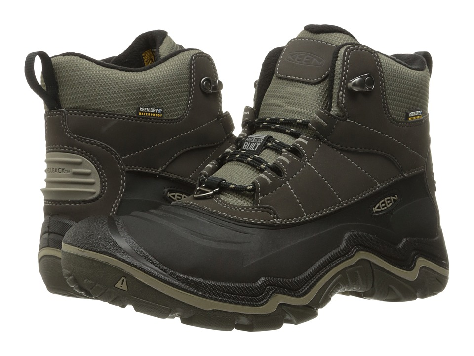 Keen Durand Polar Shell (Black Olive/Brindle) Men