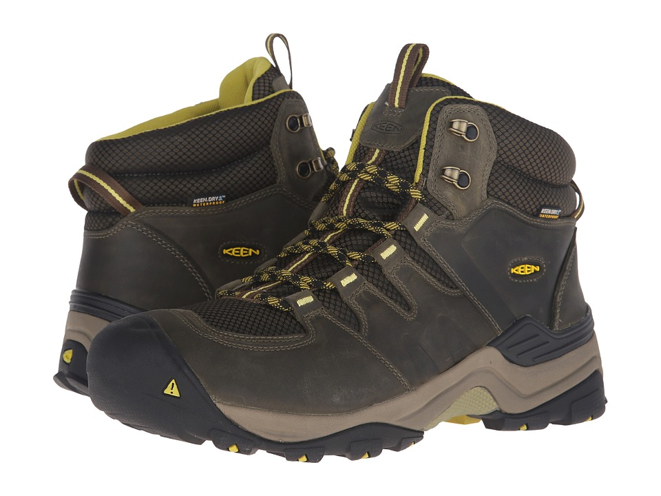 Keen - Gypsum II Mid Waterproof (Forest Night/Warm Olive) Men