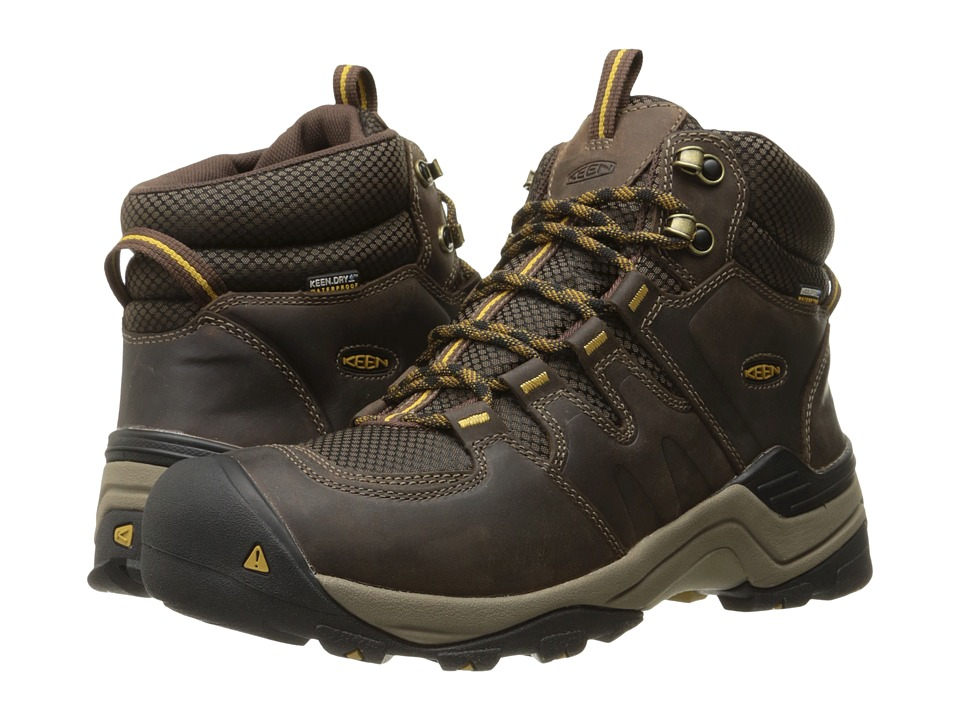 Keen - Gypsum II Mid Waterproof (Coffee Bean/Bronze Mist) Men