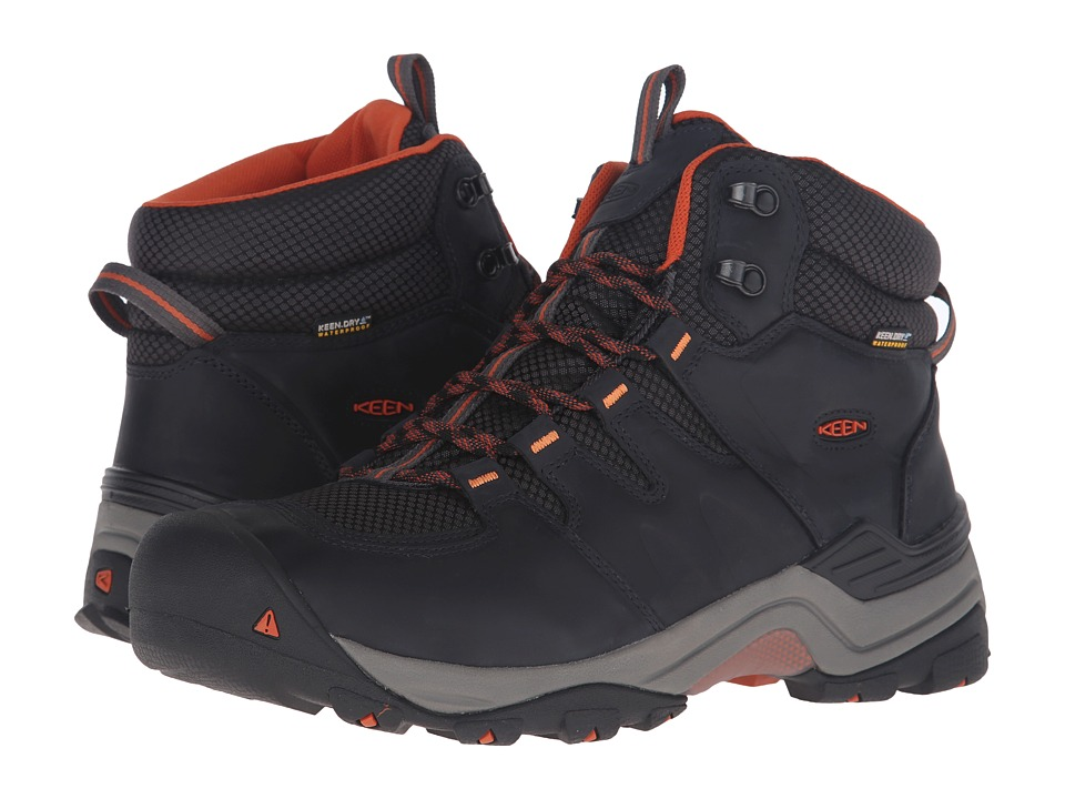 Keen - Gypsum II Mid Waterproof (India Ink/Burnt Ochre) Men
