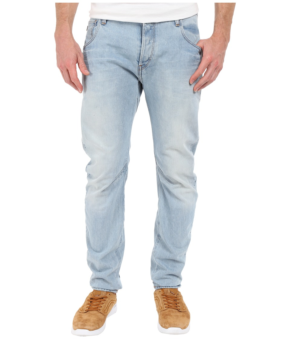 G Star Arc Slim Fit Jeans in Wisk Denim Light Aged Wisk Denim Light Aged Mens Jeans