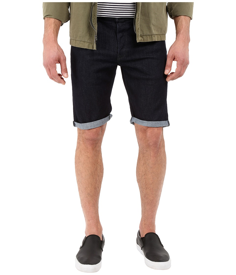 G Star 3301 Deconstructed Shorts in Binsk Superstretch Rinsed Binsk Superstretch Rinsed Mens Shorts