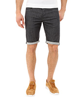G-Star - 3301 Deconstructed Shorts in Accel Grey Stretch Denim Rinsed