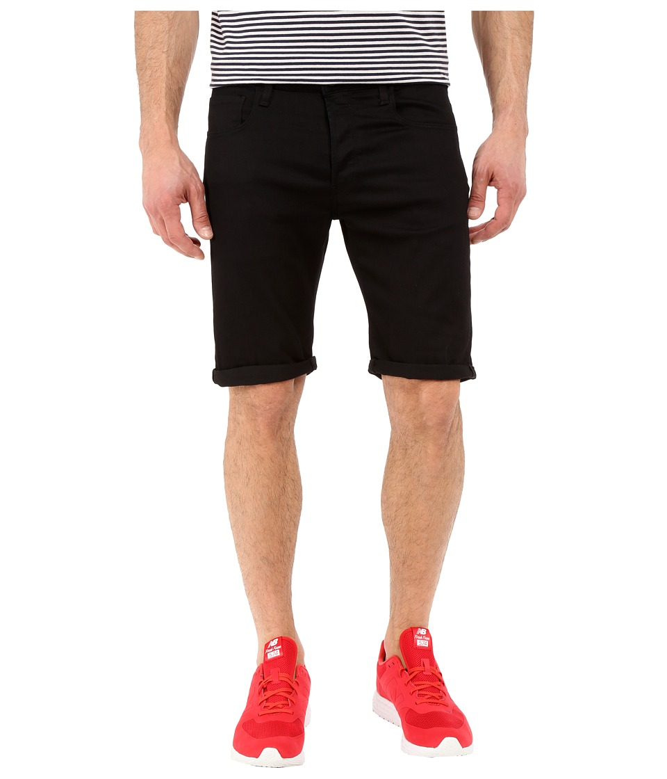 G Star 3301 Deconstructed Shorts in Cilex Black Superstretch Rinsed Cilex Black Superstretch Rinsed Mens Shorts