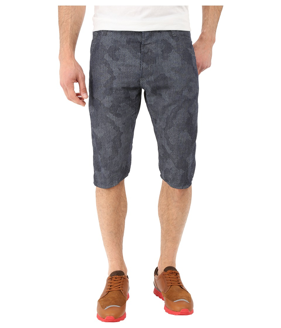 G Star Arc 3D Tapered Shorts in Lightweight Shatter Denim Rinsed/Milk Ao Lightweight Shatter Denim Rinsed/Milk Ao Mens Shorts