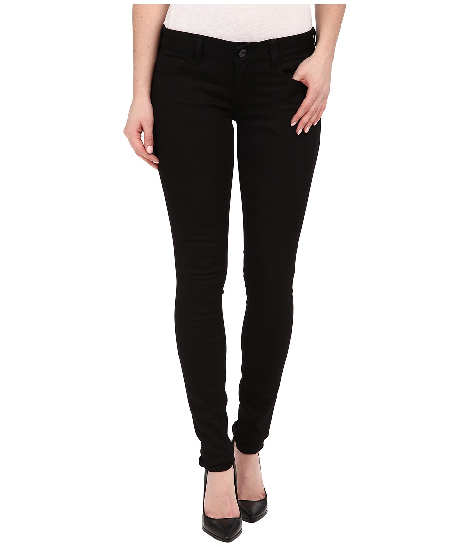 G Star 3301 Deconstructed Low Super Skinny Jeans in Cilex Black Superstretch Rinsed Cilex Black Superstretch Rinsed Womens Jeans