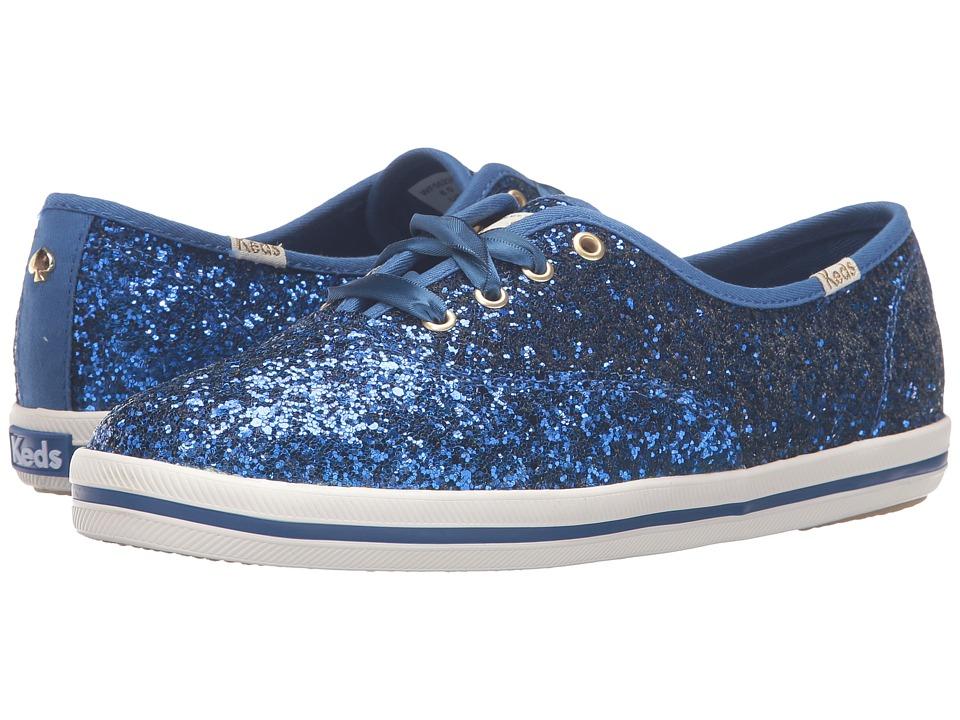 Kate Spade New York - Glitter (Keds Blue Glitter) Women