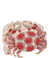 Betsey Johnson - Betsey's Boat House Crab Pearl Bracelet