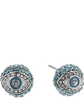Betsey Johnson - Crystal Eye Ball Stud Earrings