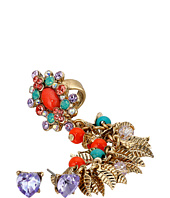 Betsey Johnson - Shaky Crawler Earrings Set