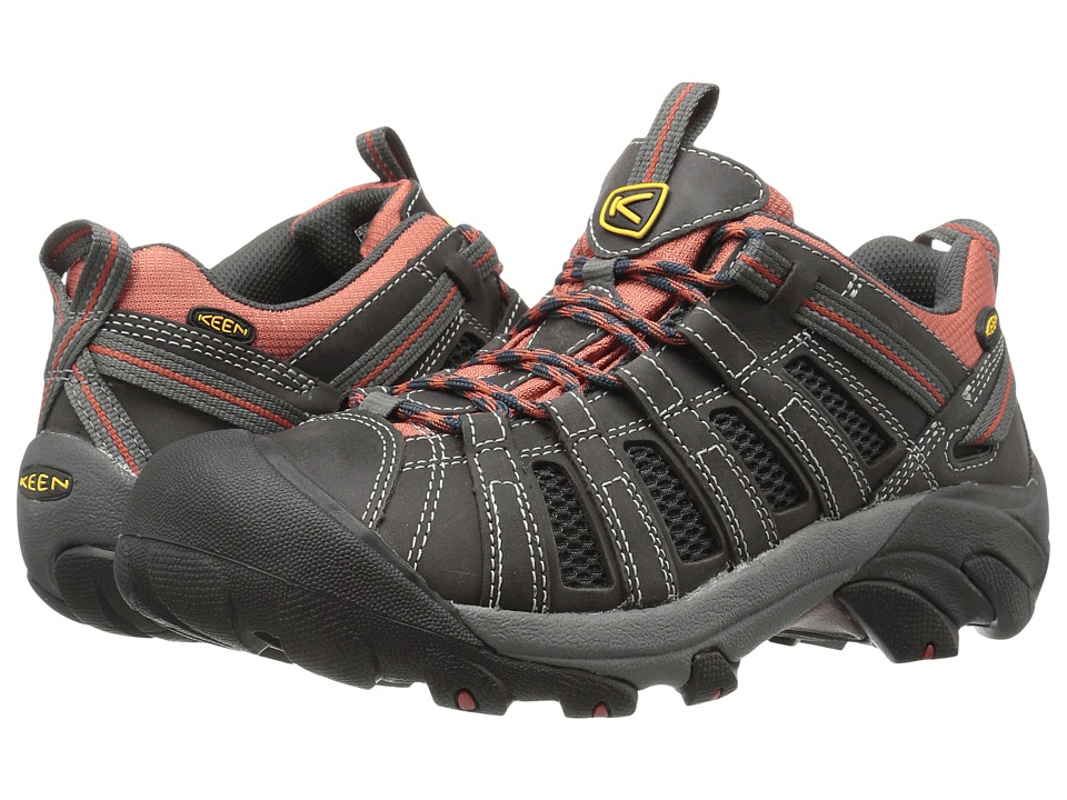 Keen - Voyageur (Magnet/Orange Ochre) Mens Shoes