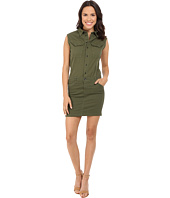G-Star - Rovic Slim Sleeveless Dress in Trone Superstretch Twill