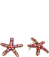 Betsey Johnson - Betsey & the Sea Starfish Stud Earrings