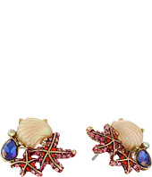 Betsey Johnson - Betsey & the Sea Cluster Stud Earrings