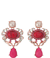 Betsey Johnson - Betsey's Boat House Crab Drop Earrings