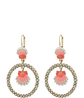 Betsey Johnson - Betsey & the Sea Seashell Orbital Earrings