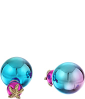 Betsey Johnson - Betsey & the Sea Rainbow Front/Back Earrings