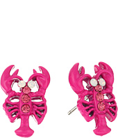 Betsey Johnson - Betsey's Boat House Lobster Stud Earrings