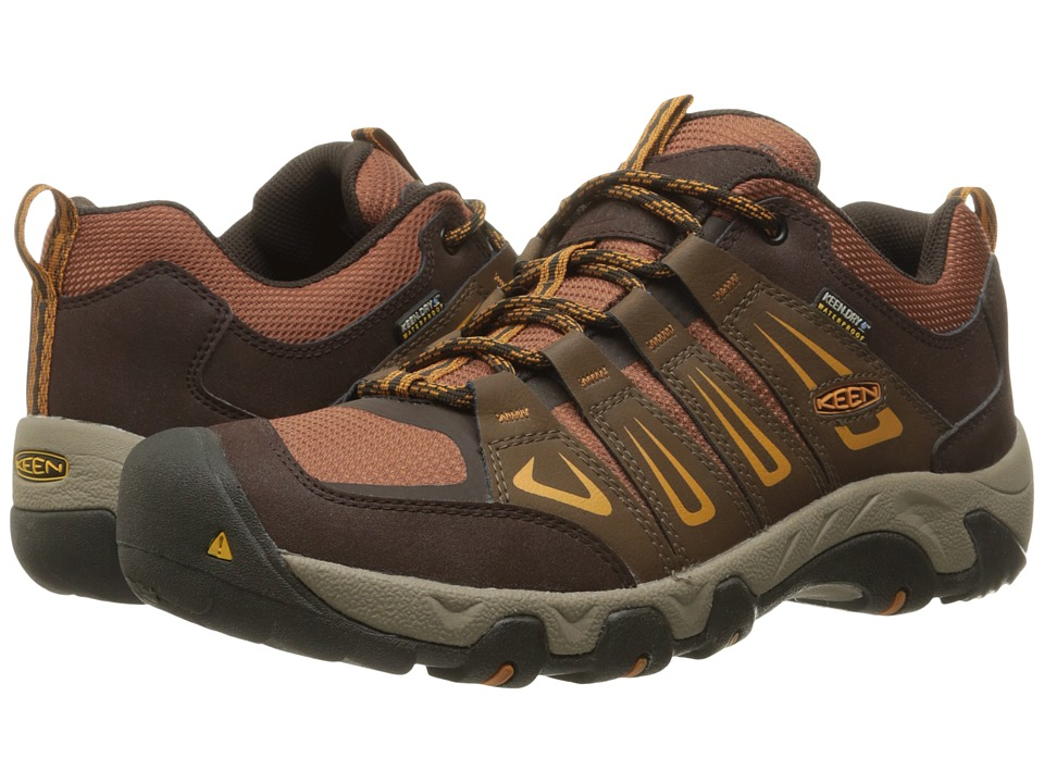 Keen - Oakridge Waterproof (Dark Earth/Tortoise Shell) Men