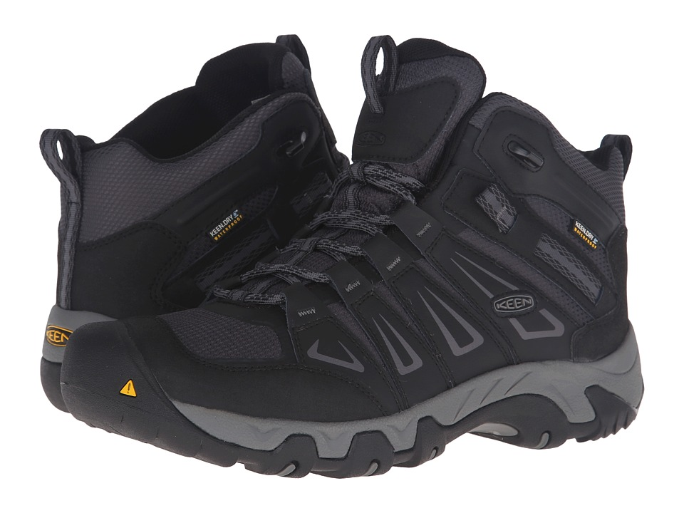 Keen - Oakridge Mid Waterproof (Magnet/Gargoyle) Men