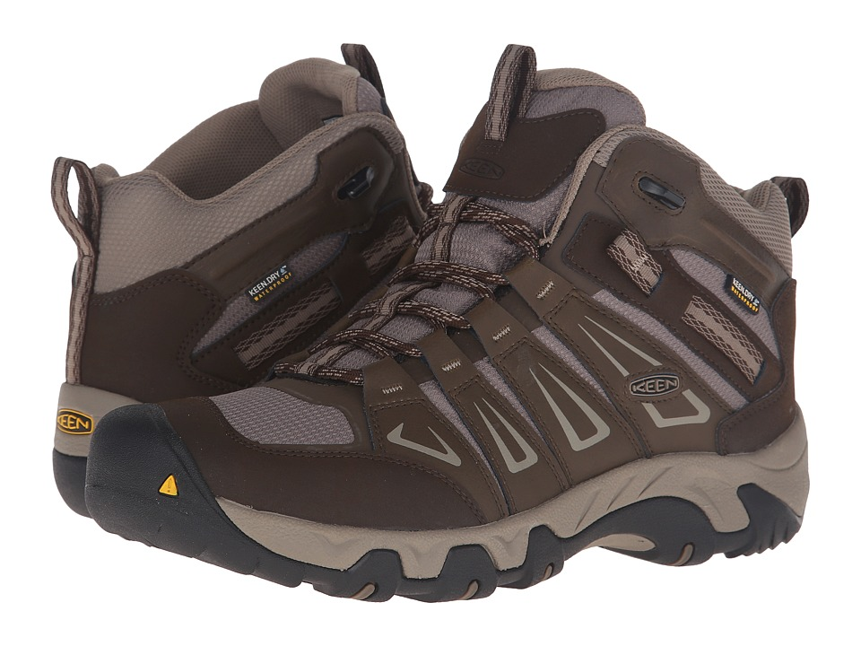 Keen - Oakridge Mid Waterproof (Cascade/Brindle) Men
