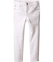7 For All Mankind Kids - The Skinny Five-Pocket Stretch Denim Jeans in Clean White (Little Kids)