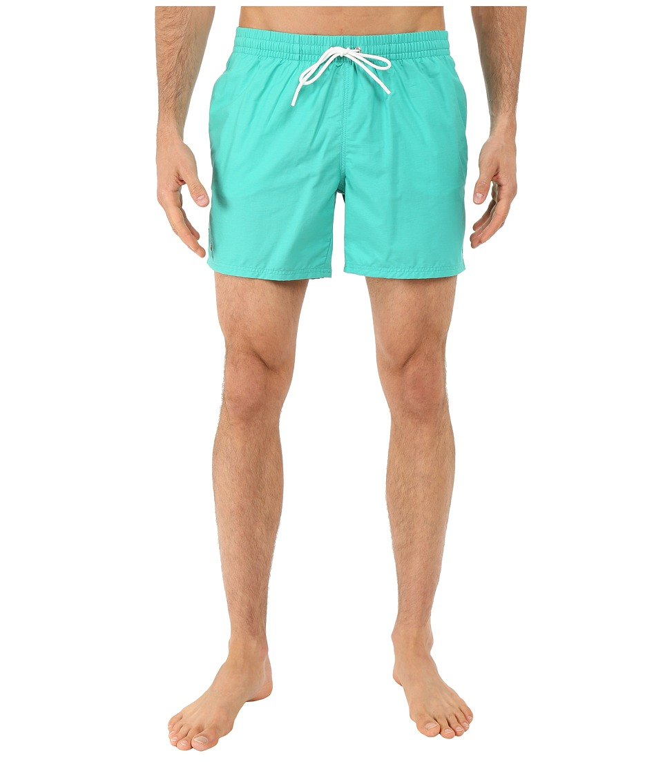 Lacoste Taffeta Swimming Trunk Papeete/White Mens Swimwear