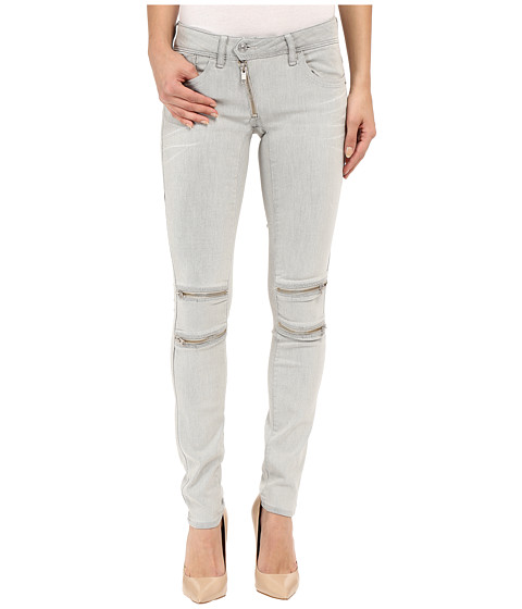 G-Star Lynn Custom Mid Skinny Fit Jeans in Slander Kit Superstretch White Painted