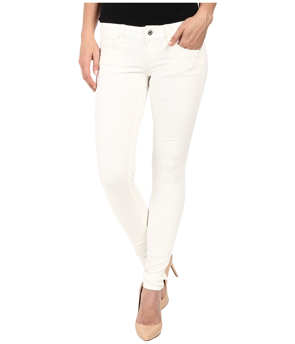 G Star 3301 Deconstructed Low Super Skinny in White Talc Superstretch 3D Aged White Talc Superstretch 3D Aged Womens Jeans
