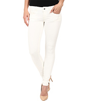 G-Star - 3301 Deconstructed Low Super Skinny in White Talc Superstretch 3D Aged
