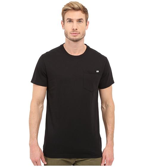 G-Star Ratiz Short Sleeve Pocket Tee in Compact Jersey - Black