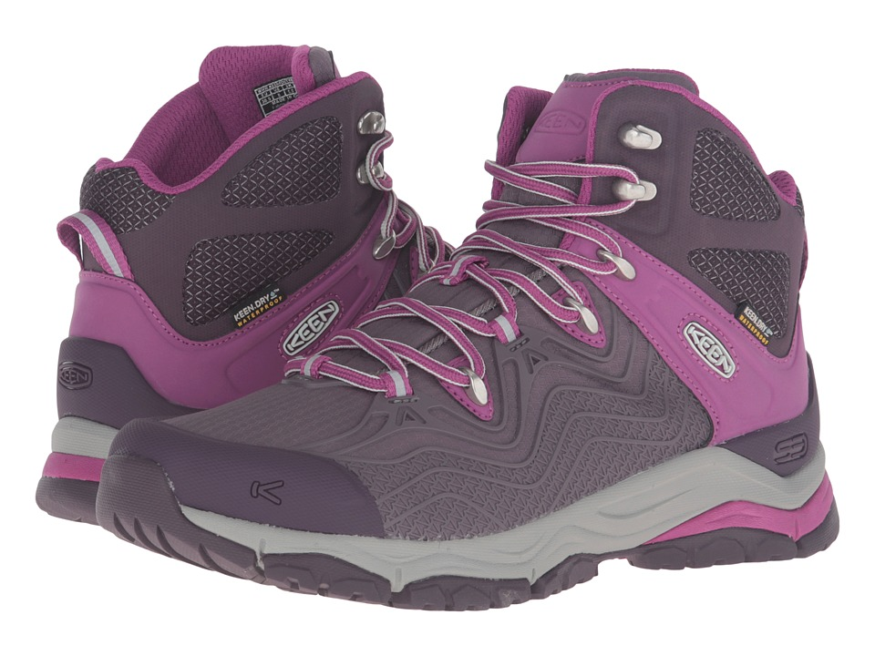 Keen - Aphlex Mid Waterproof (Plum/Shark) Women