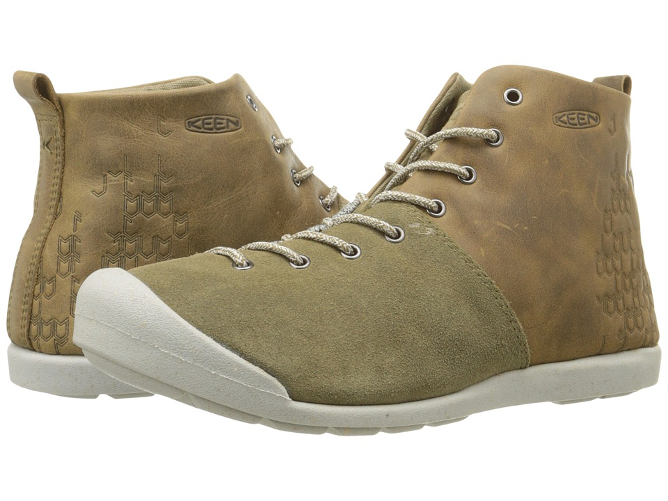 Keen - East Side Bootie (Pale Olive/Gargoyle) Women