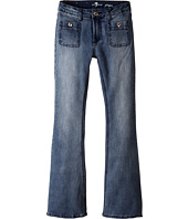 7 For All Mankind Kids - Ginger Wide Leg Jeans in Swiss Alps (Big Kids)