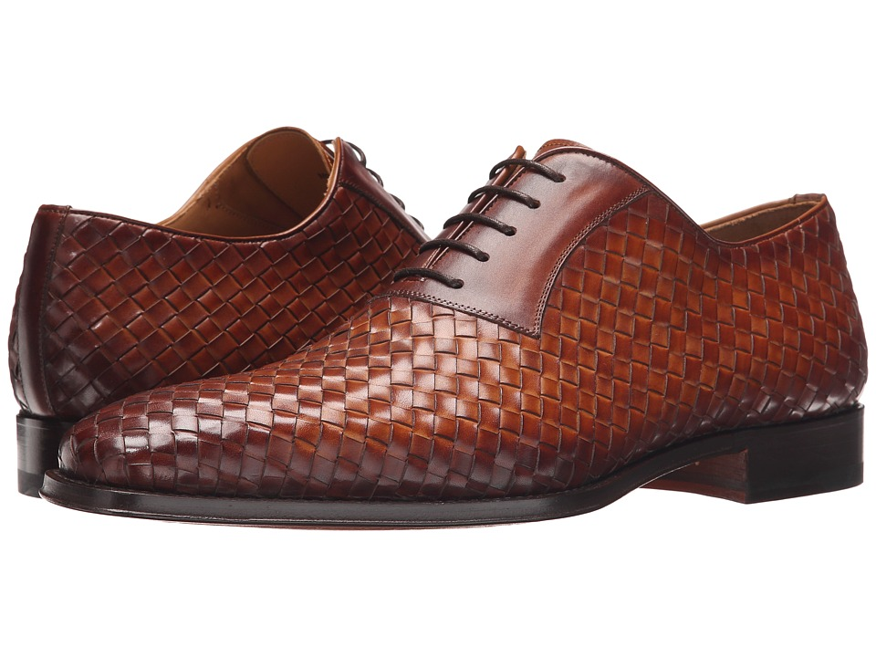 Magnanni - Camilo Cuero Mens Lace up casual Shoes $435.00 AT vintagedancer.com