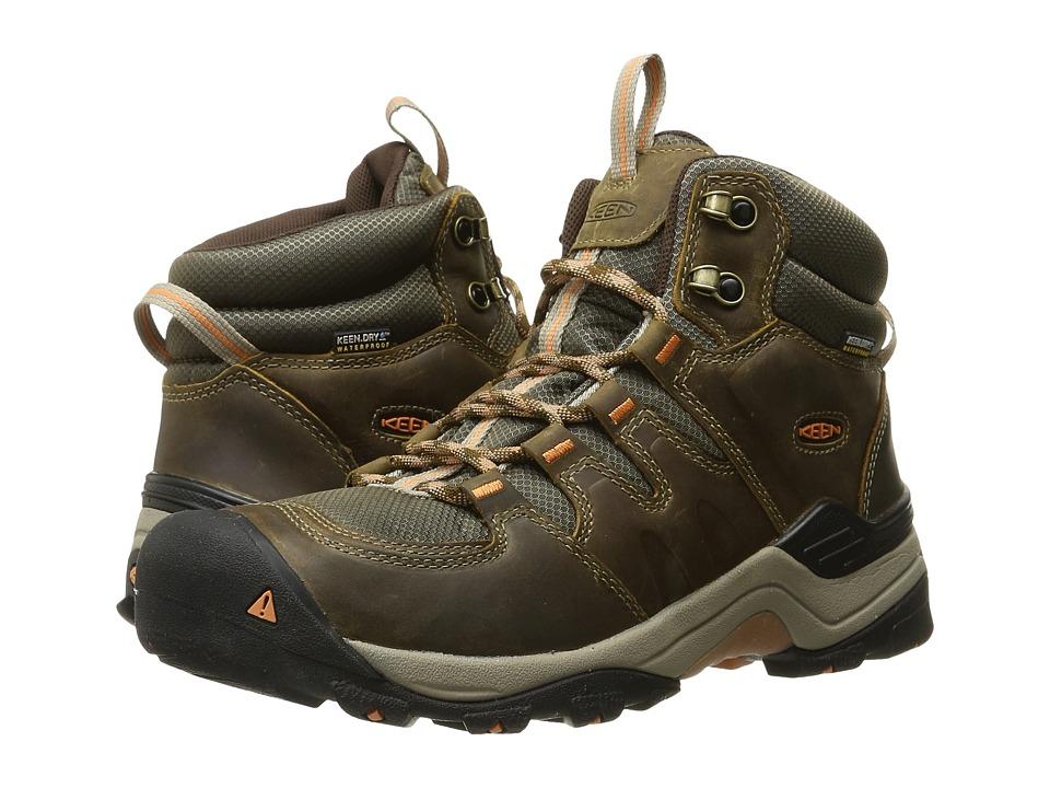 Keen Gypsum II Mid Waterproof (Cornstock/Gold Coral) Women's Waterproof Boots