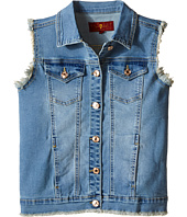 7 For All Mankind Kids - Slim Illusion Denim Vest (Big Kids)