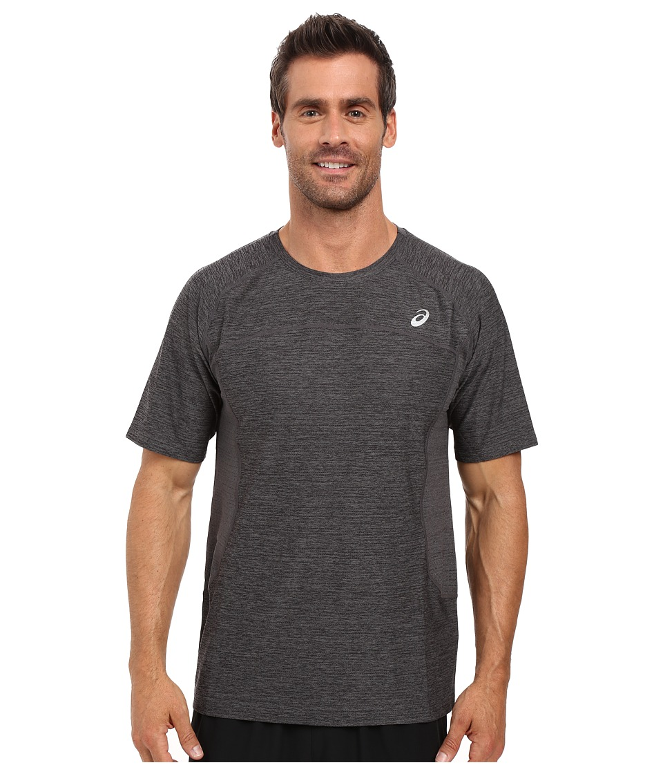 ASICS - Lite-Show Short Sleeve (Iron Gate Heather) Men